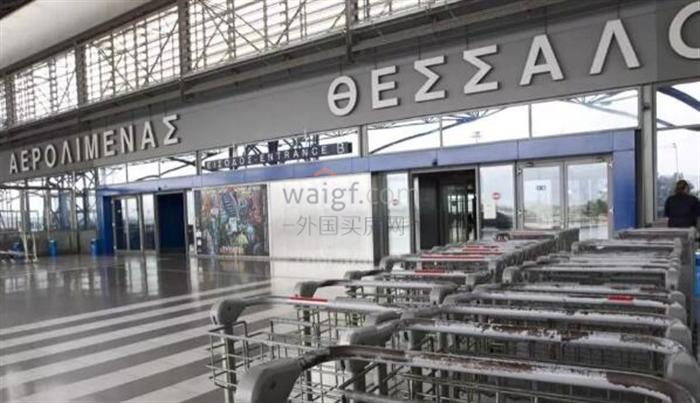 希臘塞薩洛尼基國際機場將配套升級,有酒店和購物中心!
